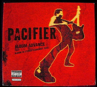 Pacifier US album advance cover art